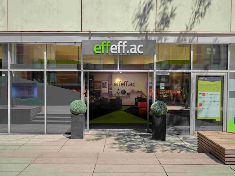 Effeff-Eingang